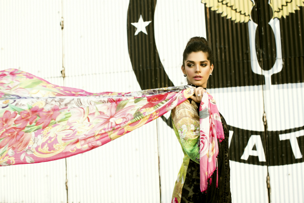 Crimson & Saira Shakira Collaborate to Launch Crimson Luxe featuring Sanam Saeed as the face of the campaign (2) edit