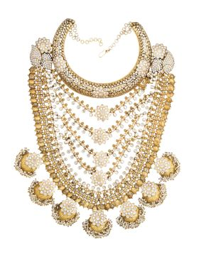 AMRAPALI NECKLACE EXCLUSIVELY AVAILABLE AT AASHNI & CO!!