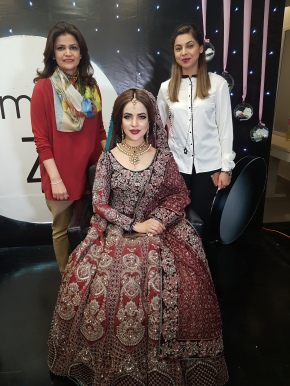 Amina Z and StageLine join hands for a beauty masterclass