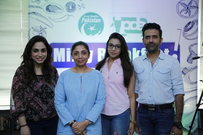 Ayesha, Sonia, Meenal and Yousaf