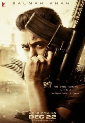 Tiger Zinda Hai, first look is Salman Khan's diwaligift