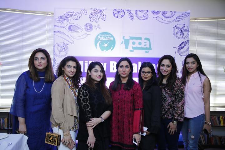 Nayab, Rubia, Kherzan, Sadia , Vaneeza, Ayesha and Meenal