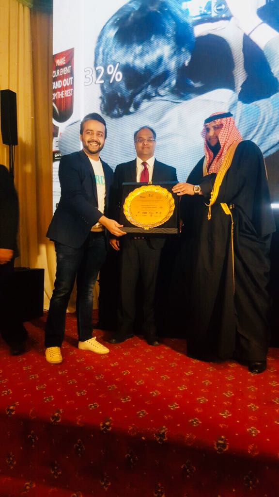 Prince of Saudi Arabia gave special recognition to the producers of Parchi