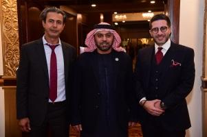Baker Atyani, H.E. Hamad Obaid Al Zeeabi, Faisal Abbas