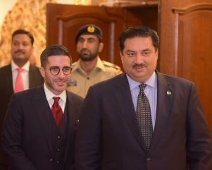 Faisal Abbas, Khurram Dastagir Khan