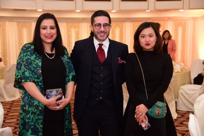 Farwa, Faisal, Noelle