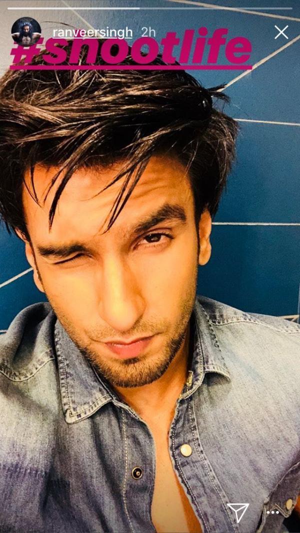 Ranveer Singh wink